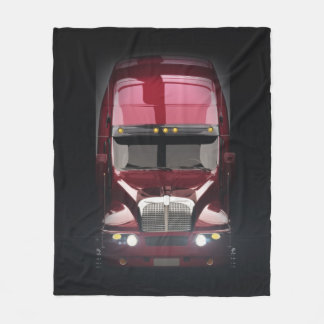 Heavy Truck Fleece Blanket