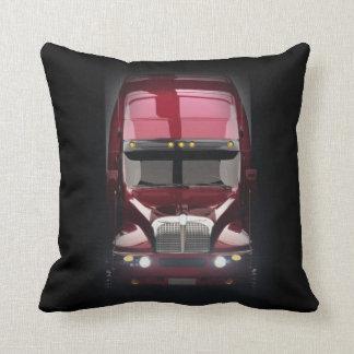 Heavy Truck Throw Pillow