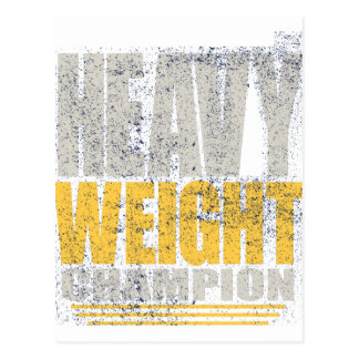 Heavy weight postcard