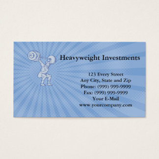 Heavyweight Investments Business card