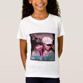 Hebdomadaire personnalisé de Tween T-Shirt