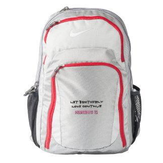 Hebreux 13 Perseverez Backpack