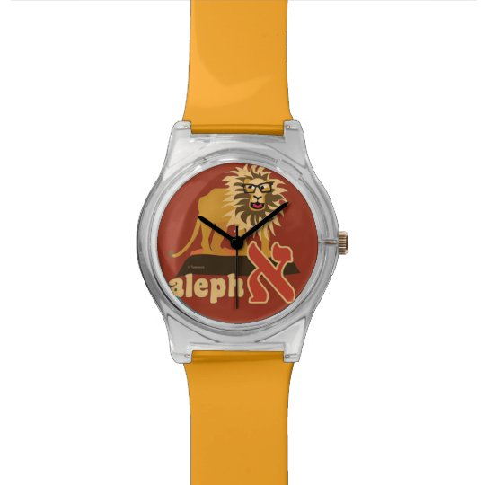 Hebrew Alphabet Wrist Watch-Aleph Watch