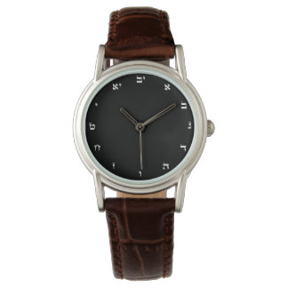 Hebrew Numbers - Classic Watch for Women