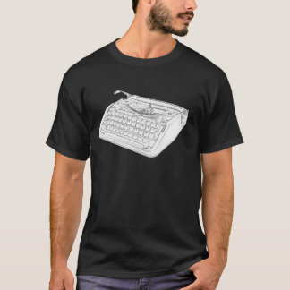 Hebrew Typewriter T-Shirt