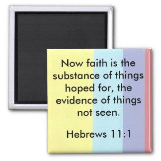 Hebrews 11:1 faith Magnet