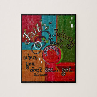 Hebrews 11 Faith Jigsaw Puzzle