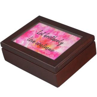 Hebrews 13 keepsake box