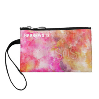 Hebrews 13 Let Brotherly Love Continue Coin Purse