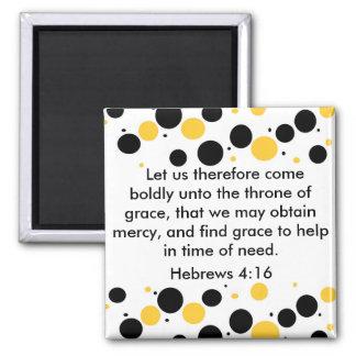 Hebrews 4:16 magnet