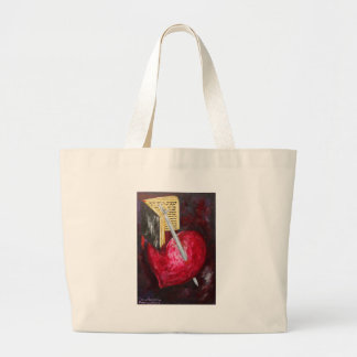 Hebrews 4 large tote bag