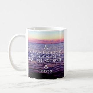 Hebrews 6:19 Coffee Mug