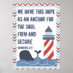 Hebrews 6:19 Large Poster