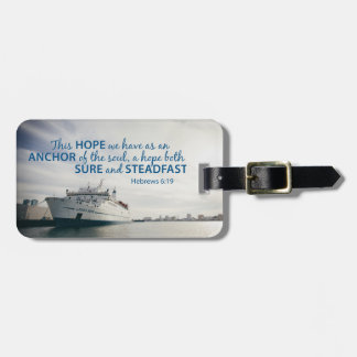Hebrews 6:19 Luggage Tag