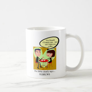 HEBREWSRUSSELL COFFEE MUG