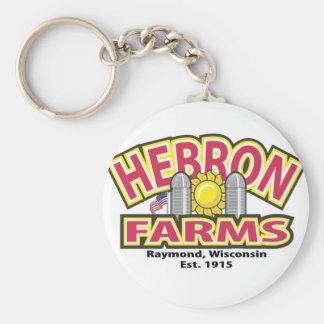 Hebron Farms Logo Keychain