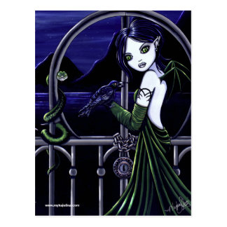 """Hecate"" Dark Underworld Postcard"