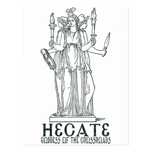 Hecate Post Cards