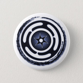 Hecate's Wheel (Blue) Buttons