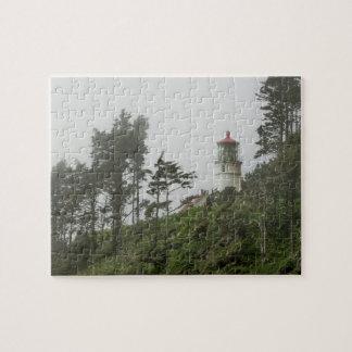 Heceta Head Light House, Oregon Jigsaw Puzzle