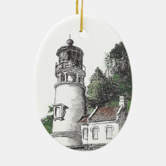 Heceta Head Lighthouse Ceramic Ornament