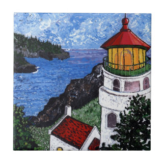 Heceta Head Lighthouse Ceramic Tile