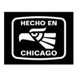 Hecho en Chicago personalizado custom personalized Postcards