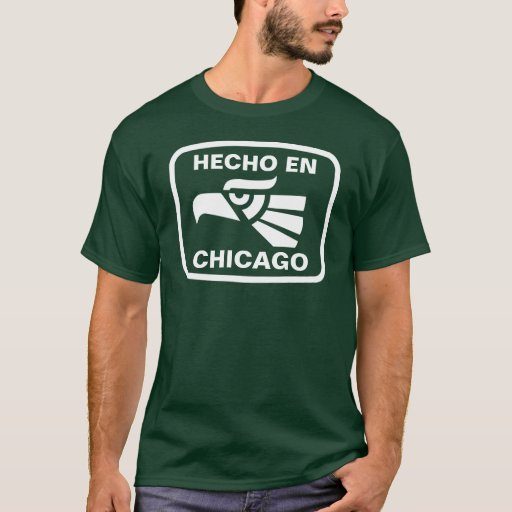 Hecho en Chicago personalizado custom personalized T-Shirt