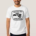 Hecho en Chicago personalizado custom personalized T Shirt
