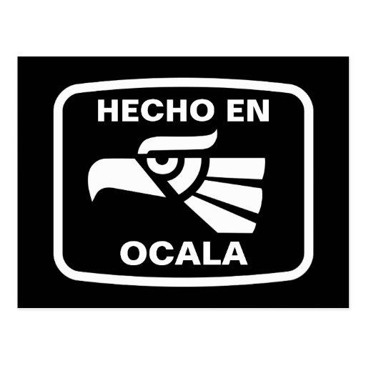 Hecho en Ocala personalizado custom personalized Post Card