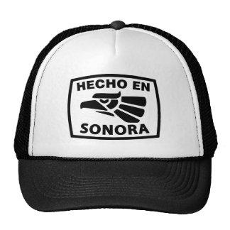 HECHO EN SONORA HAT