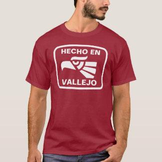 Hecho en Vallejo personalizado custom personalized T-Shirt