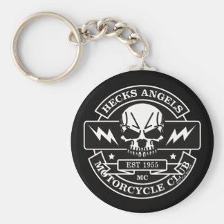 HECKS ANGELS_black&white Keychain
