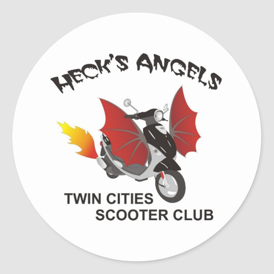 Heck's Angels Stickers