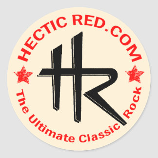 Hectic Red Sticker