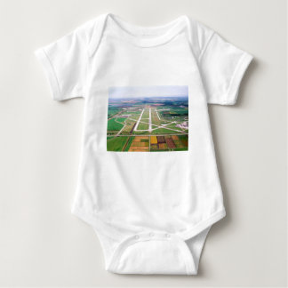Hector airport baby bodysuit