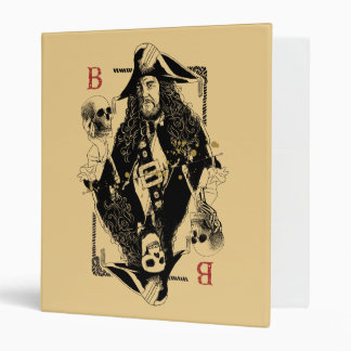 Hector Barbossa - Ruler Of The Seas 3 Ring Binders