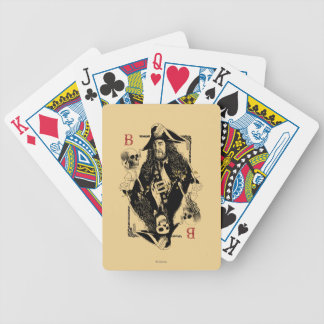 Hector Barbossa - Ruler Of The Seas Bicycle Playing Cards