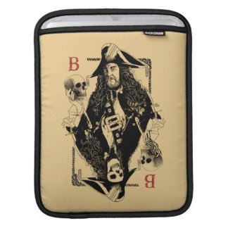 Hector Barbossa - Ruler Of The Seas iPad Sleeve