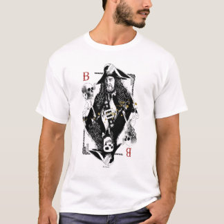 Hector Barbossa - Ruler Of The Seas T-Shirt