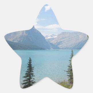 Hector Lake Star Sticker