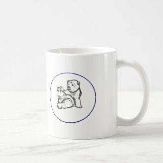 Hector the Bear logo mug