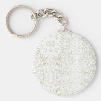 Hedera Ivy Design Keychain