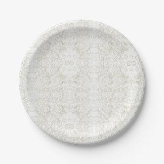 Hedera Ivy Design Paper Plate