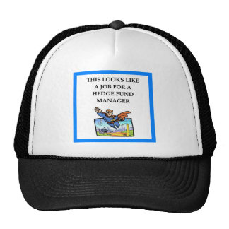 hedge fund trucker hat