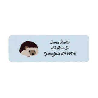Hedgehog Address Labels