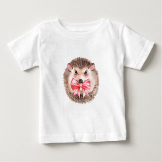 Hedgehog and bow baby T-Shirt
