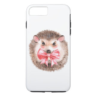 Hedgehog and bow iPhone 8 plus/7 plus case