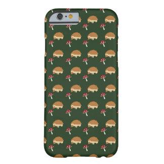Hedgehog and Mushroom iPhone Case