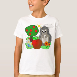 Hedgehog & Apple T-Shirt
